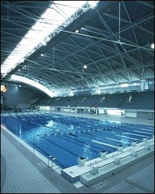 Sydney swimming pool for the 1998 Olympics