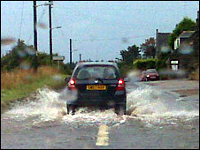 Aberdeenshire flooding [Pic: Laura Rowley]