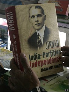 Cover of the Jinnah book