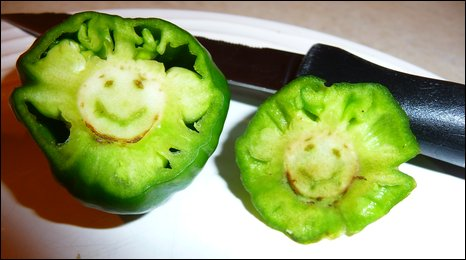 Nigel's smiley pepper