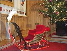 Queen Victoria's sleigh