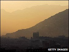 File photo of Kabul skyline