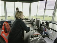 Air traffic control Cotswold Airport