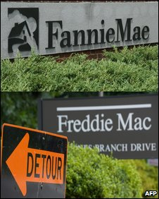 Fannie and Freddie logos