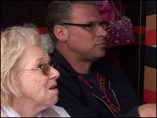 Mark Kermode and his mother filled the cinema