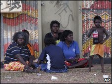 Aborigines in Northern Territory, May 2009