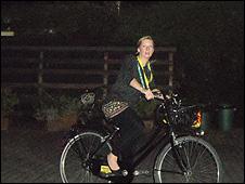 BBC reporter Keily Oakes