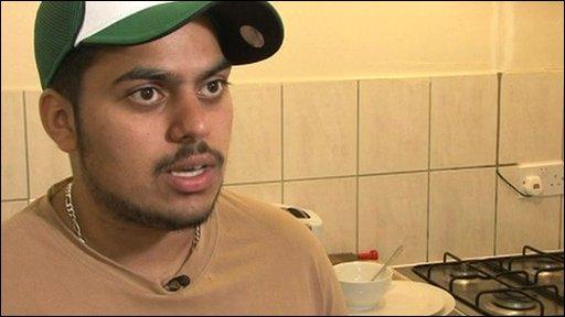Student Raj Singh