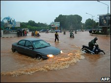 Floods in Ouagadougou 1.9.09