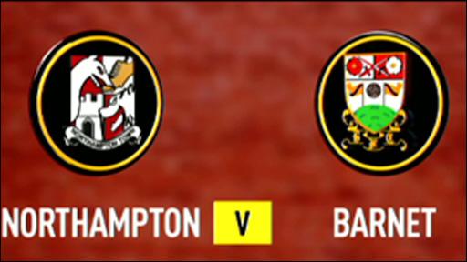 Northampton 1-3 Barnet