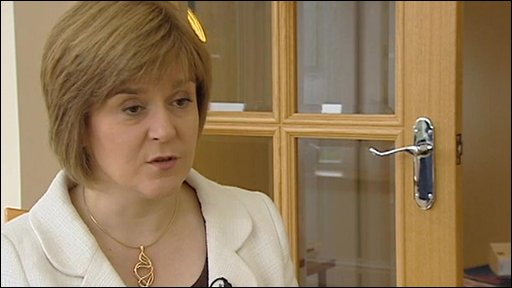 Deputy First Minister of Scotland Nicola Sturgeon