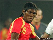 Guinea's Oumar Kalabane
