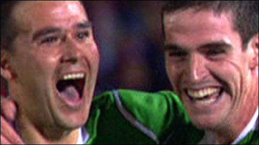 David Healy and Kyle Lafferty