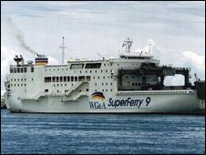 The Superferry 9