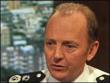 Sir Hugh Orde, president of the Association of Chief Police Officers speaking on the Andrew Marr Show