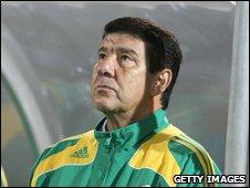 South Africa coach Joel Santana
