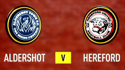 Aldershot 2-2 Hereford