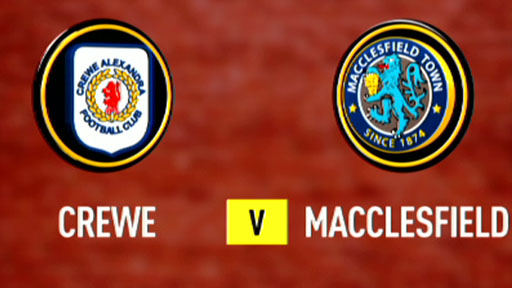 Crewe 2-1 Macclesfield
