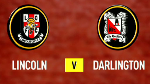 Lincoln City 3-0 Darlington