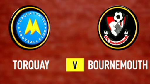 Torquay 1-2 Bournemouth