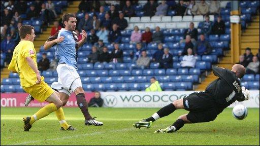 Bury 0-2 Accrington Stanley