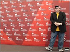 Michael Moore at Venice Film Festival