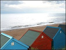 Mundesley beach huts (Photo: Jacqui Jones)