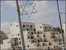 A construction site of a new housing development in the West Bank Jewish settlement of Maaleh Adumim. Photo: 6 September 2009 