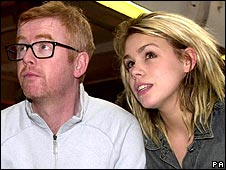 Chris Evans with Billie Piper