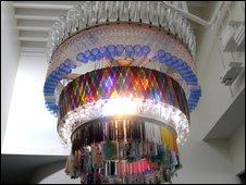 Eco chandelier