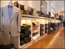 Richard Anderson's tailoring house