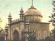 The Shah Jehan mosque