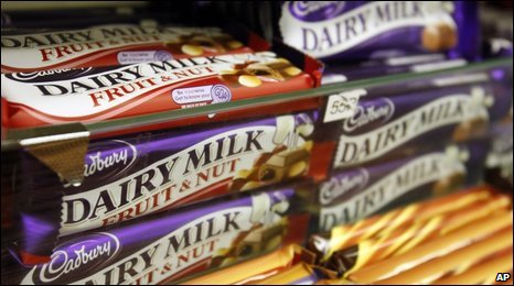 Cadbury chocolate bars for sale