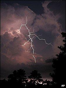 Lightning strike (Image: AP)