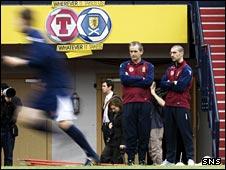 George Burley takes Scotland training on Monday