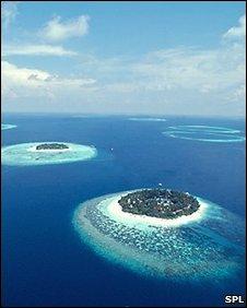 Maldives atoll (SPL)