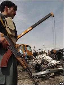 Suicide blast in Kabul