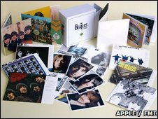 Reissued Beatles back catalogue