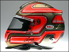 Vitantonio Liuzzi's helmet