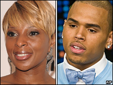 Mary J Blige and Chris Brown