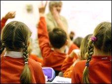 Pupils in classroom (Generic)