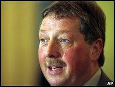 Finance minister Sammy Wilson