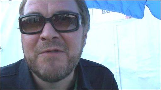 Doves frontman Jimi Goodwin