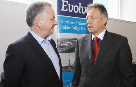 Jack McConnell and Peter Robinson
