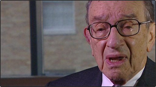 Former head of the federal reserve Alan Greenspan