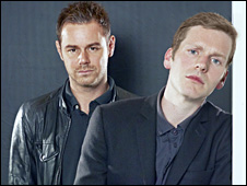 Danny Dyer and Shaun Evans
