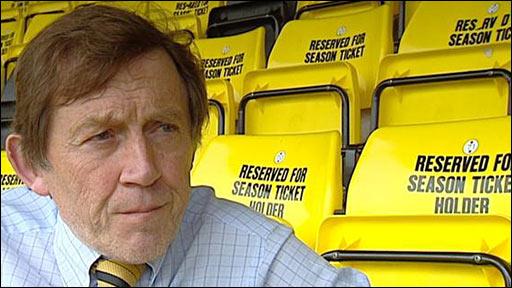 Livingston chairman Gordon McDougall