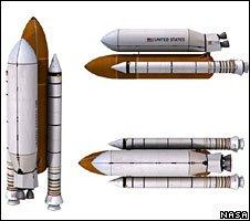 Sidemount shuttle launch vehicle