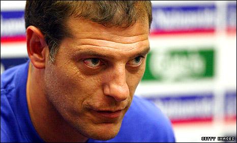 Croatia boss Slaven Bilic