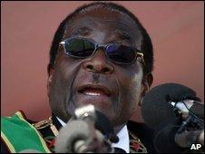 Zimbabwe President Robert Mugabe, file image